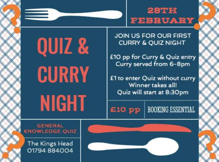 The big Quiz returns !