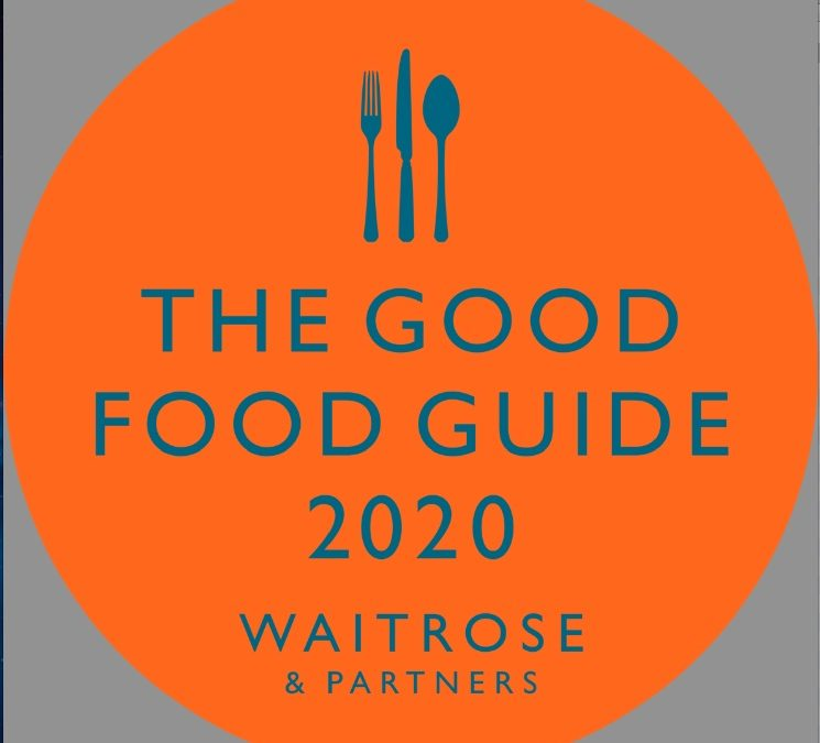 Betony by Matt Tomkinson featured in the Good Food Guide 2020 !